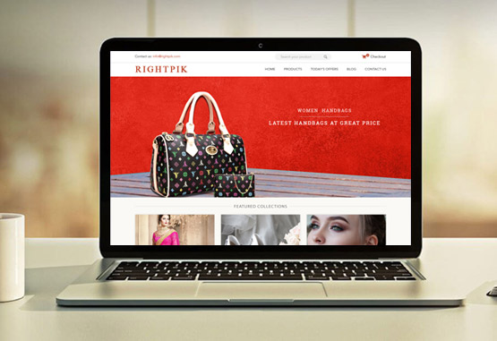 magento website designing