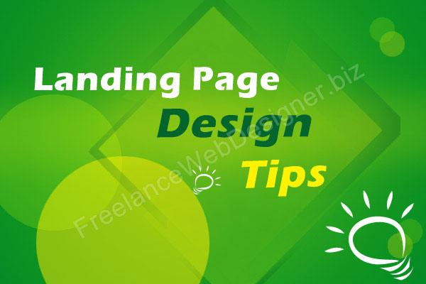 professional freelance landing page designer