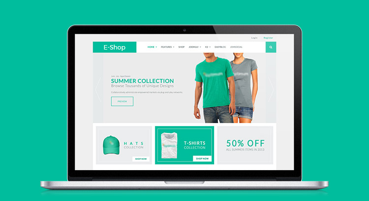 ecommerce web design tips